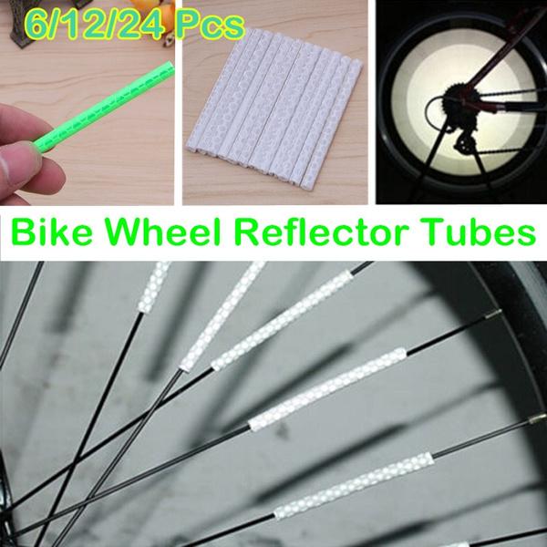 wheelreflective, Cycling, spokesreflectivetube, Sports & Outdoors