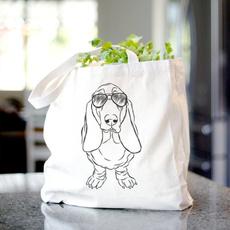 Canvas, Totes, Tote Bag, Pets