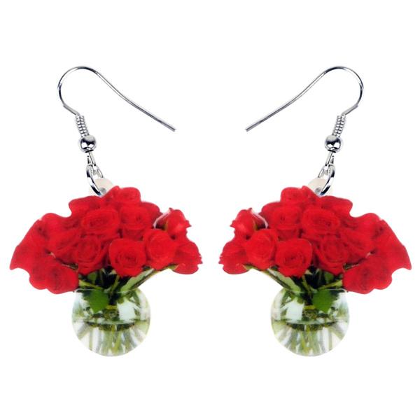 roseearring, Fashion, Jewelry, earringsdangle