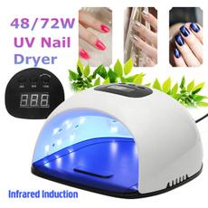 led, Beauty, fingernail, nail design