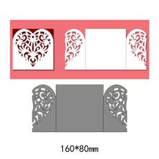 papercraftstencil, scrapbookdiyaccessorie, embossingfolder, Heart
