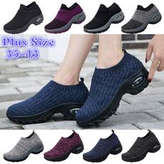 casual shoes, walking, Plus Size, Platform Shoes