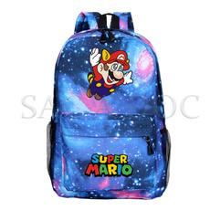 cute, Mario, backpacks for boys, Book