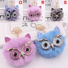 Owl, Fox, Key Chain, Jewelry