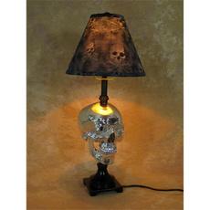 skull, Interior Design, Halloween, Lamp
