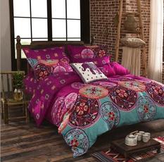 Set, Sheets, bedclothe, Double