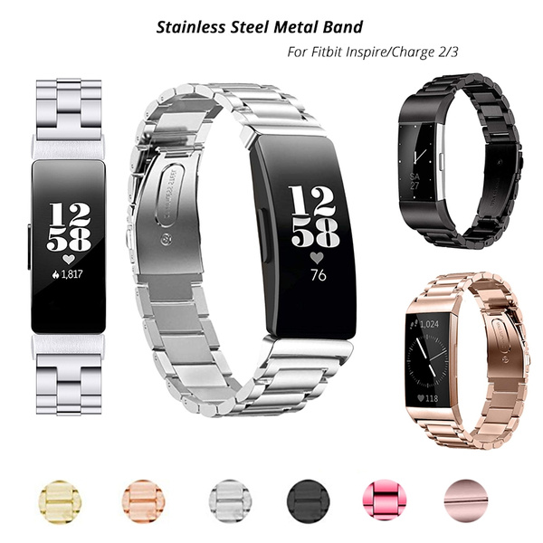 Steel, Fashion Accessory, fitbitinspire, Metal