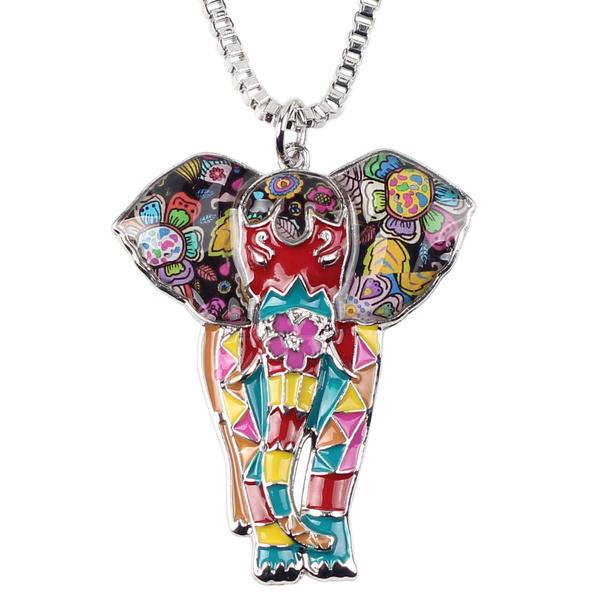 elephantgift, Unique, chokernecklaceforgirl, Jewelry
