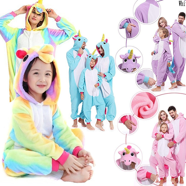 kidspajama, Cosplay, unicornpajama, Family