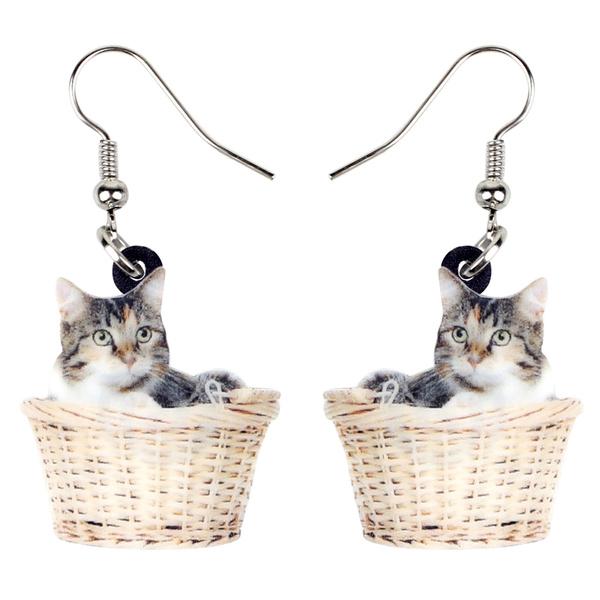 earringsforkid, catgift, Fashion, earringsforgirl