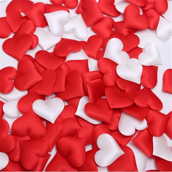 Heart, Decor, Fabric, Wedding Supplies