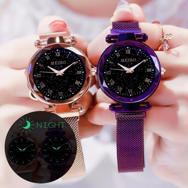 starryskywatch, dial, quartz, fashion watches