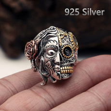 Sterling, Fashion, Jewelry, skull