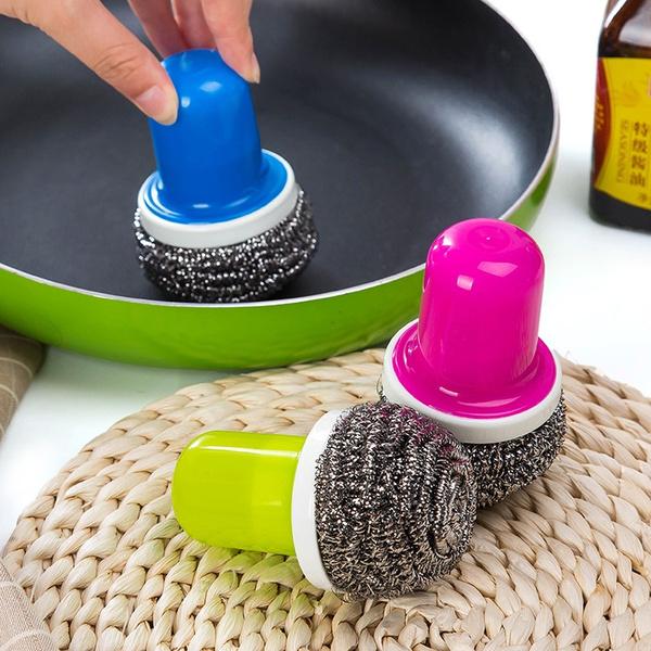 Steel, Kitchen & Dining, washingball, kitchenbrush