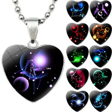 constellationnecklace, Heart, Fashion, glassdome