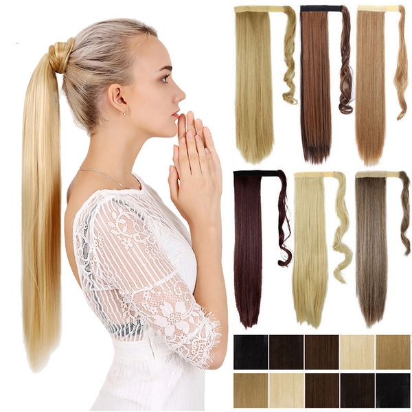 velcroponytail, straightwig, syntheticponytail, ombrehair