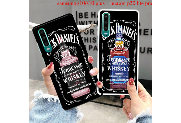 The Jack Daniels Phone Case Cover for iPhone X XS Max XR 8 Plus 7 6S 6 Plus 5S 5 SE Cool Whisky Phone Cover Coque For Samsung Galaxy S10 S10 Plus S9 ...