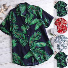 printedtop, Holiday, Cotton, beachshirt