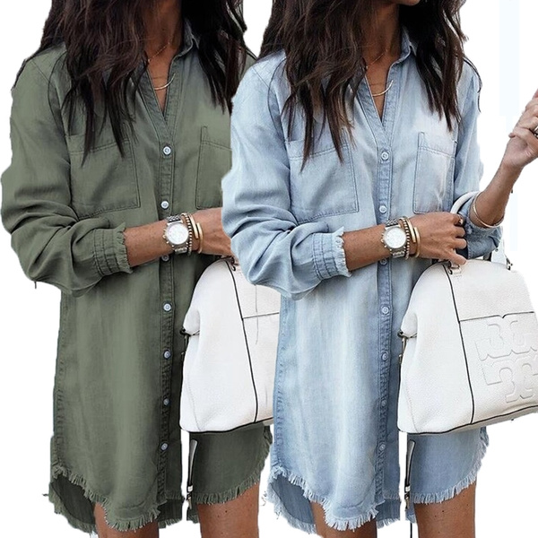 denim dress, woman t shirt, Fashion, Shirt