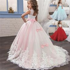 Beautiful, pink, tullepartydre, Encaje