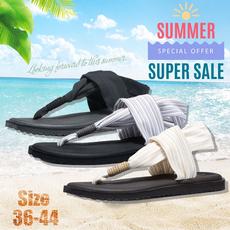 beach shoes, Flip Flops, Plus Size, Yoga