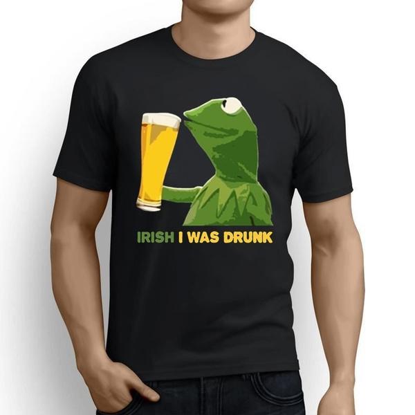 mensummertshirt, Irish, Fashion, men's cotton T-shirt