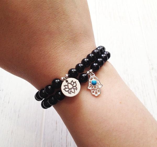 Sterling, Crystal Bracelet, gothicbracelet, Jewelry