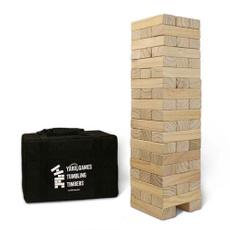 gaes, Wood, giantjengawoodstackingyardgame