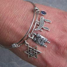 Star, Jewelry, Gifts, hanukkahbracelet