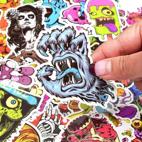 Car Sticker, skullsticker, Skeleton, Stickers