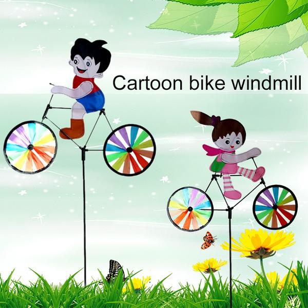 windmill, Beautiful, Lawn, Toy