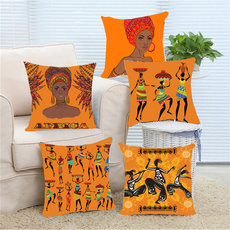 decorativepillowcase, africanwomen, africanstatue, africangirlpainting