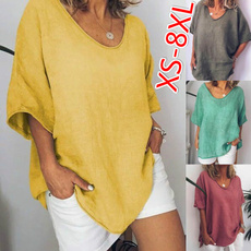 Summer, Plus size top, Women Blouse, summer t-shirts