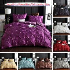 Handmade, 3pcsbeddingset, Flowers, bedclothe