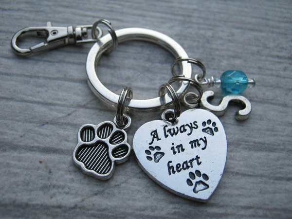 Heart, Key Chain, Gifts, birthstonekeychain