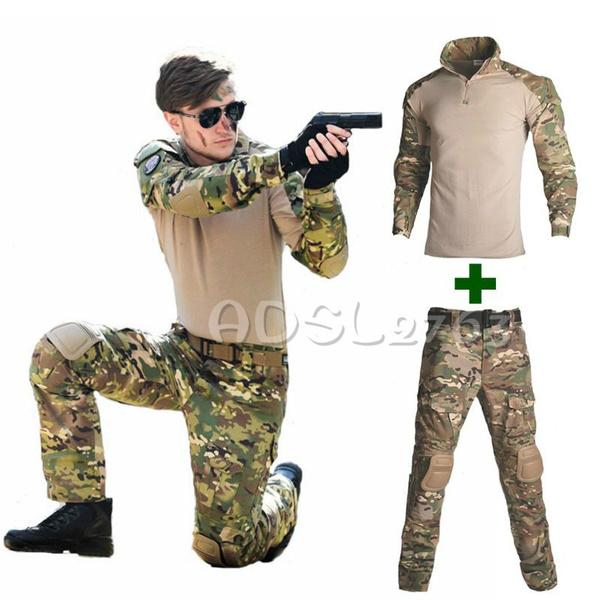 elbowpad, airsoft', Shirt, Hunting