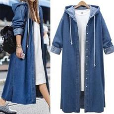 denim dress, Plus Size, Sleeve, Long Sleeve
