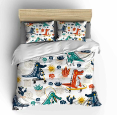 cartoonbeddingset, 3pcsbeddingset, Home Decor, Home textile