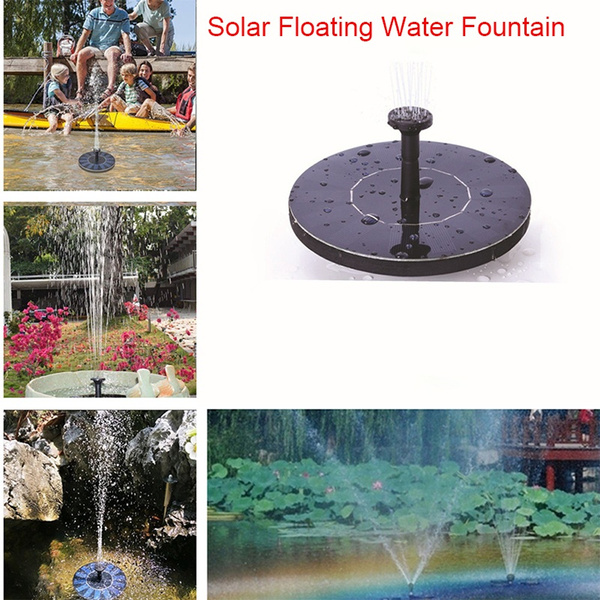 Mini, solarpoweredgadget, Garden, waterfountain