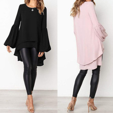 blouse, tunics women, Plus Size, long sleeve blouse