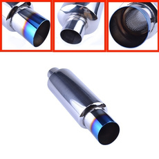 Steel, stainlesssteelcarexhaustmuffler, polished, Auto Parts
