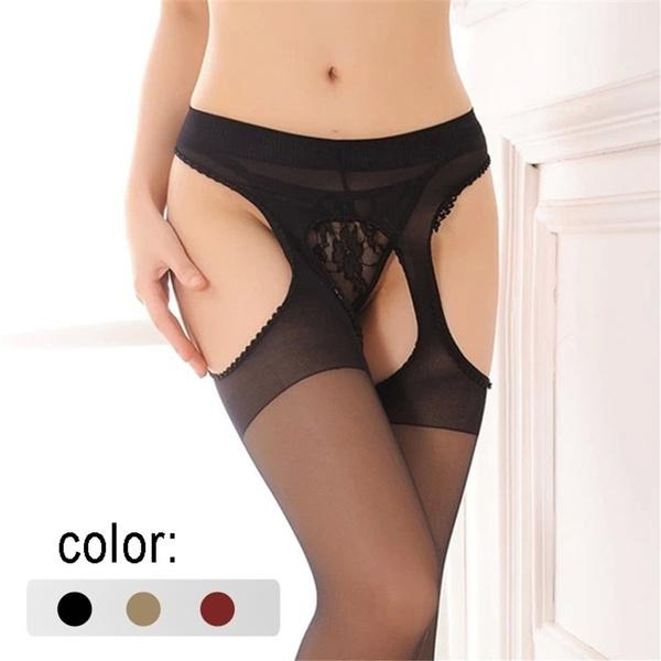 sexylacegartersset, bowknot, Underwear, Fashion