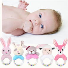Sheep, babyrattle, Plush Doll, Toy