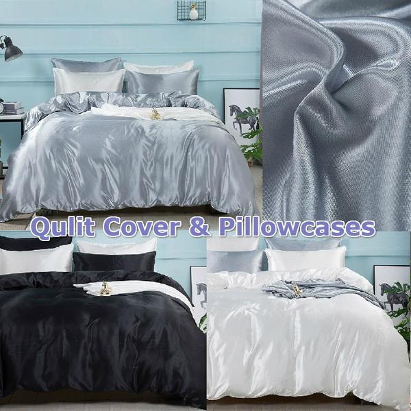 summerbeddingset, silk, quiltcover, Bedding