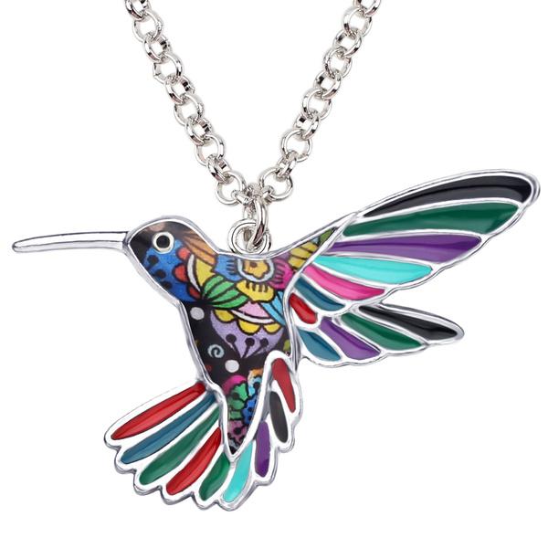 birdnecklace, Fashion, hummingbirdpendant, Jewelry