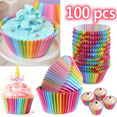 rainbowpaper, case, muffincup, Baking