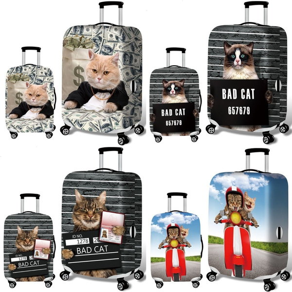 case, luggageprotector, luggagecover, 3dcat