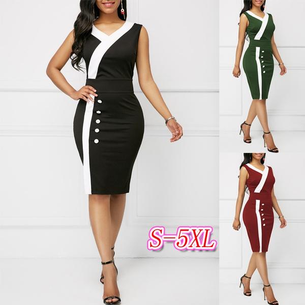 Sheath Dress, Fashion, Necks, color block dress