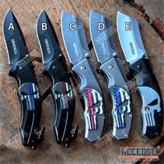 Pocket, pocketknife, skull, Hunting
