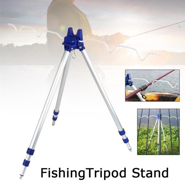 Aluminum, fishingrod, rodrestsholder, telescopic